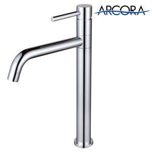 ARCORA Wasserhahn Bad Waschbecken Chrom
