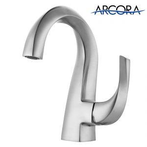 ARCORA Waschtischarmaturen Einhandmischer Nickel Gebürstet