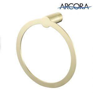 ARCORA Handtuchhaken aus gebürstetem Gold